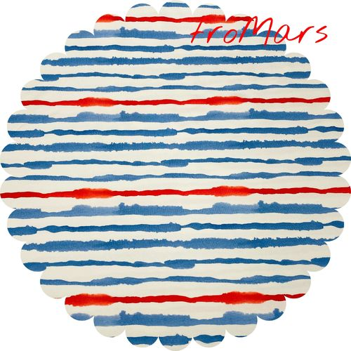 JM - Hilco - Nautical Stripe - Rot/Blau